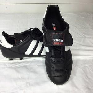 Vintage Adidas Libero Soccer Cleats 1990 FG 10